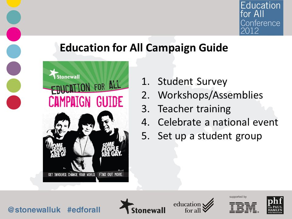 Education for All Campaign Guide