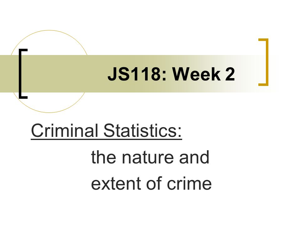 the nature and extent of crime Nature and extent of crime soc 112 chapter 2 introduction shocking crimes occurring - school / workplace shootings - hate crimes (minorities / gays) - serial killers (ridgeway / pig farmer) - terrorist attacks a.