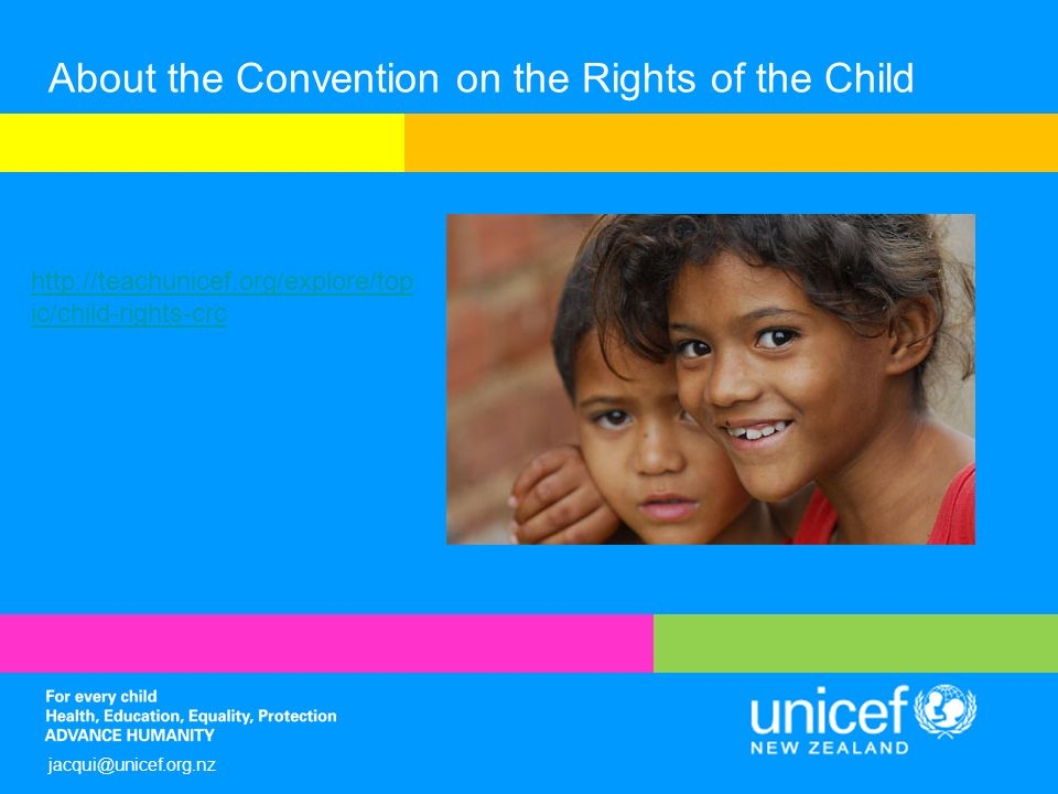 convention on the rights of the child photo essay Since its adoption, countries have created national laws to help implement the convention on the rights of the child only the usa & somalia have yet to ratify.
