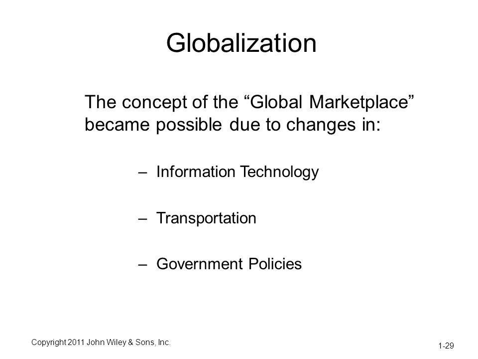 technology globalization and government Increased competition from globalization helps stimulate new technology development, particularly with the growth in fdi, which helps improve economic output by making processes more efficient economies of scale.