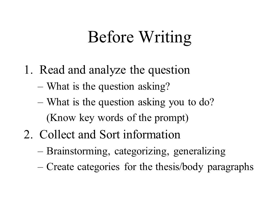 the paragraph essay roadmap to success ppt 2 before