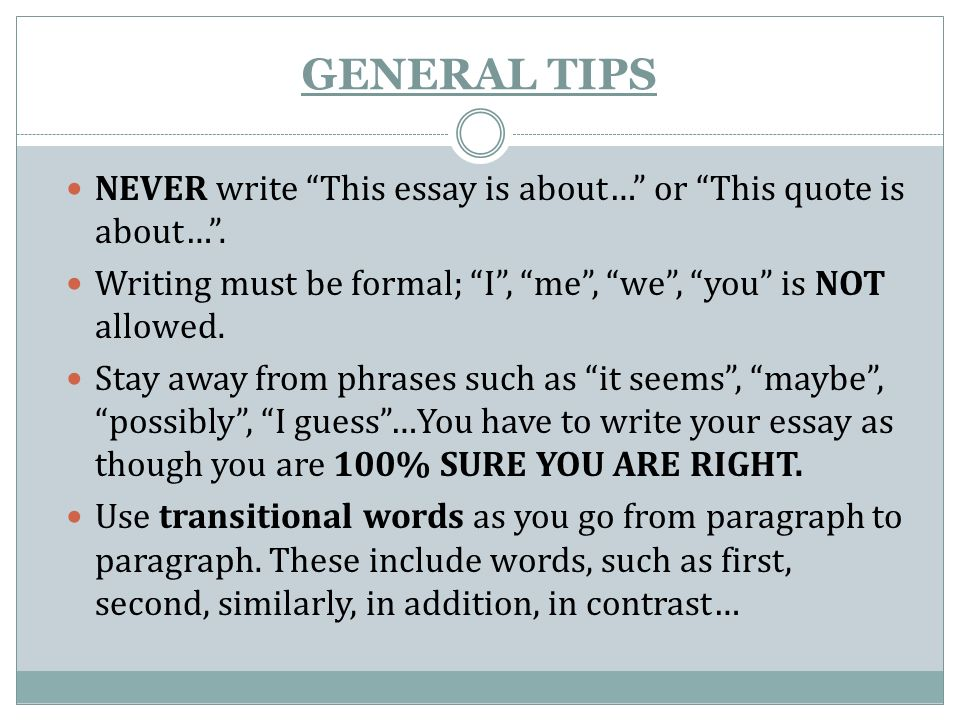 general quotes to use in essays When should i use ibid in my research paper i want to cite  last week, we  touched on the general differences between mla and apa styles.