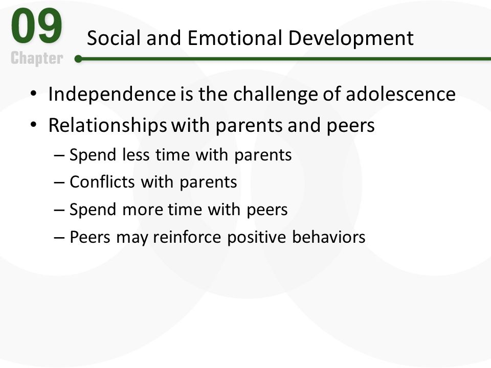 development of social and emotional identity Two types of development that are closely related to each other are social development, which is the process of learning how to interact with others and navigate social situations, and emotional development, which is the process of learning to understand the emotions of oneself and of others.