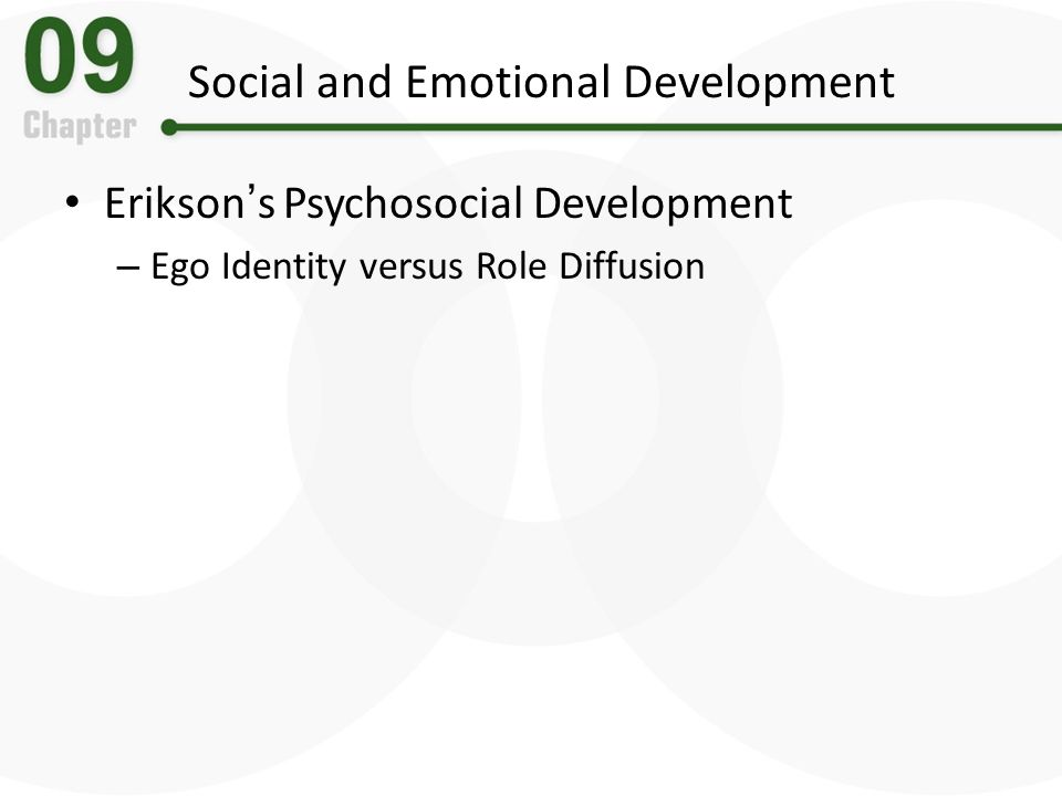development of social and emotional identity Healthy social and emotional development is invaluable to life success identity and ethnicity new influences on the social-emotional development of deaf.