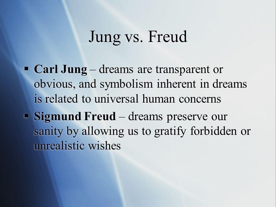 Dream Interpretation Jung Vs Freud Essay