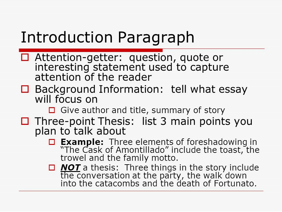 whats a good attention getter for a persuasive essay Best answer: a good attention getter in a persuasive essay tends to be an appeal to the audience, it also doubles as a taste of your main points (a thesis sentence of sorts.