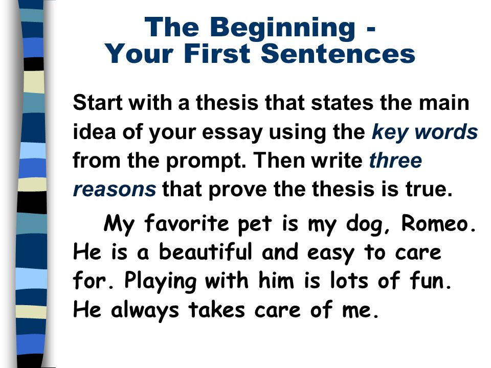 Exercise for creative writing handwriting