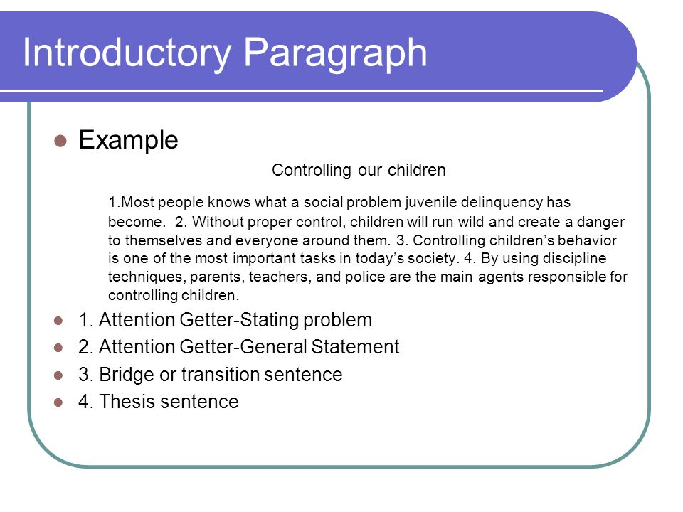 introductory techniques for essay writing How to write better essays: 5 practical tips for many such students but you can use this summary to help you write your introduction.