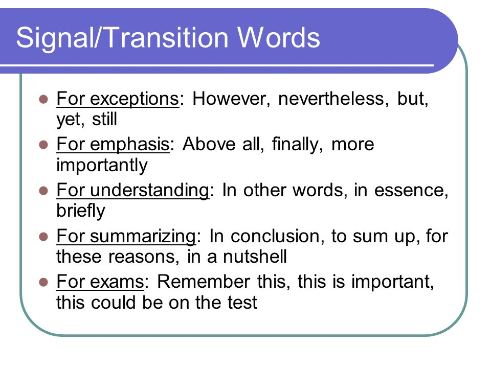 words to use in an essay conclusion