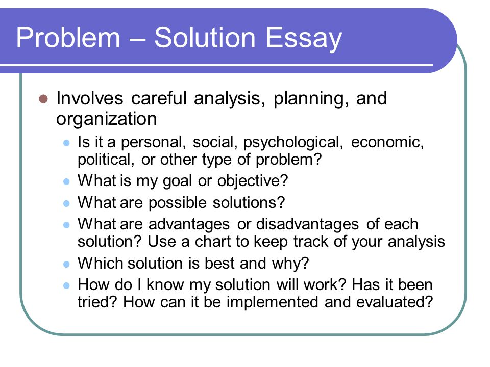 What Is A Problem Solution Essay Problem Solution Essay Ideas Essay Topics For Research Paper High School Persuasive Essay also Example Essay English  Graduating From High School Essay