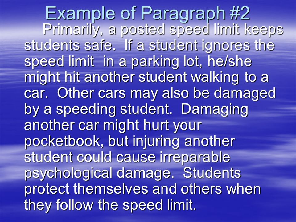 speed limit thesis statement The speed limit on this 2-lane,  essay on road rage - thesis:road rage is a major problem in the united states, it causes accidents, anger, fear,.