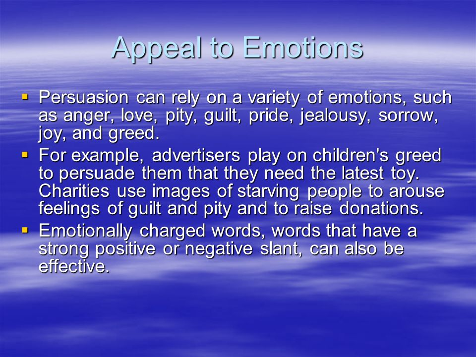 study of emotion essay