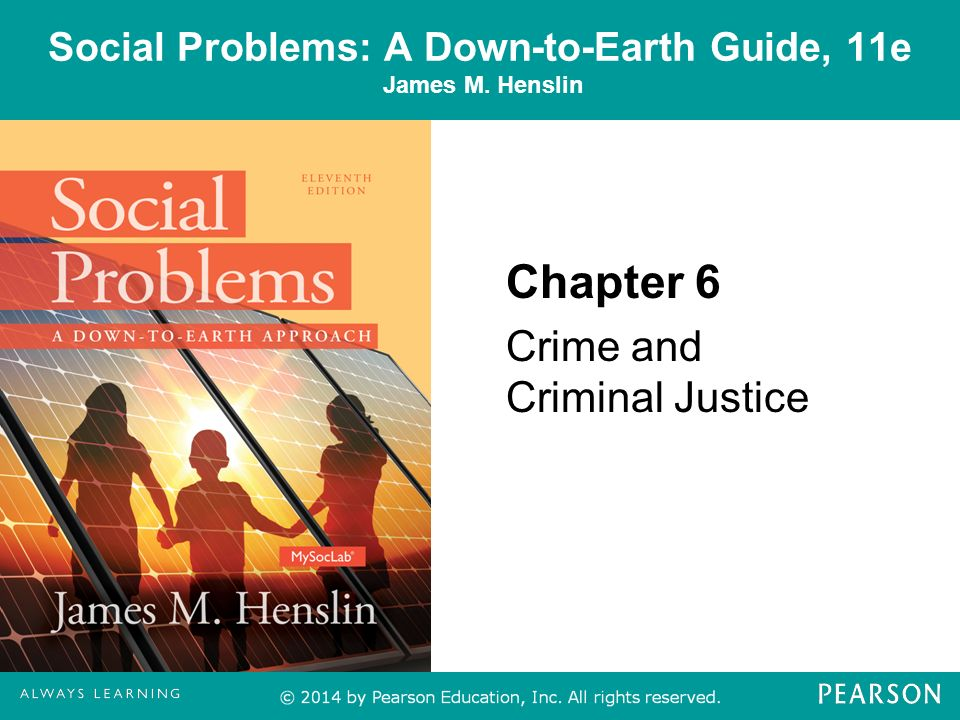 Crime As A Major Social Problem In The Society