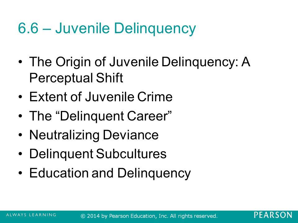 juvenile delinquencies