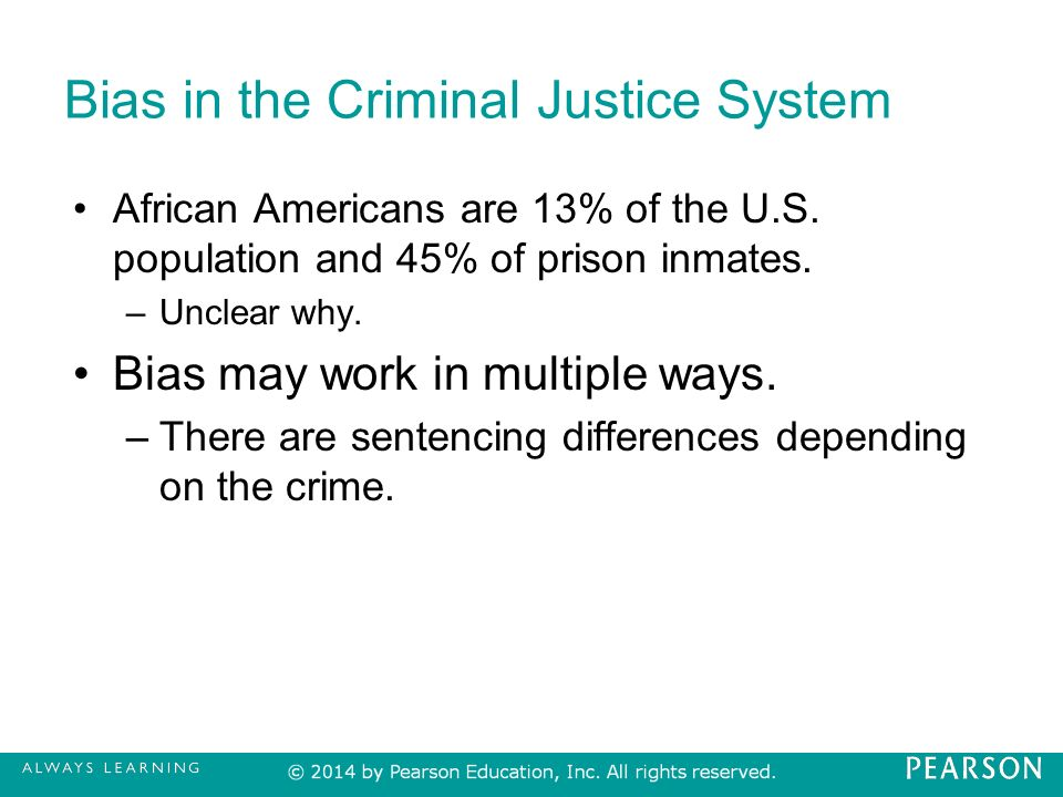 the justice system for blacks in 1930s america Orthodox marxists, in america and elsewhere, have, like marx, always reduced   the state, in response to communist activity, passed laws which banned the.