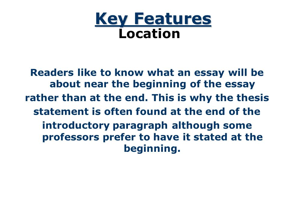 A Road Map for Your Essay - ppt download