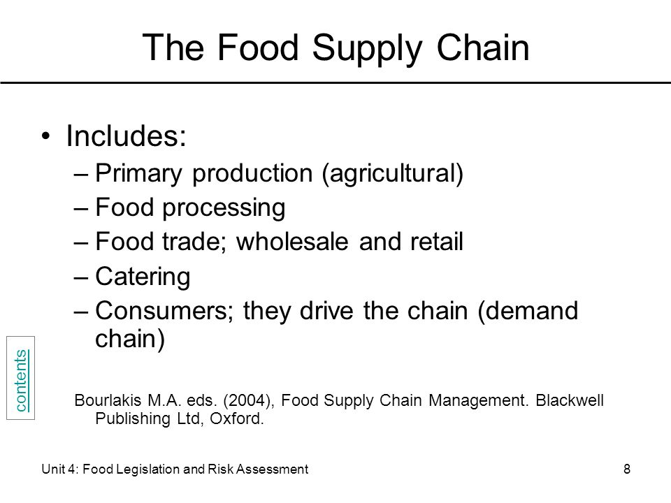 food supply chain management bourlakis pdf