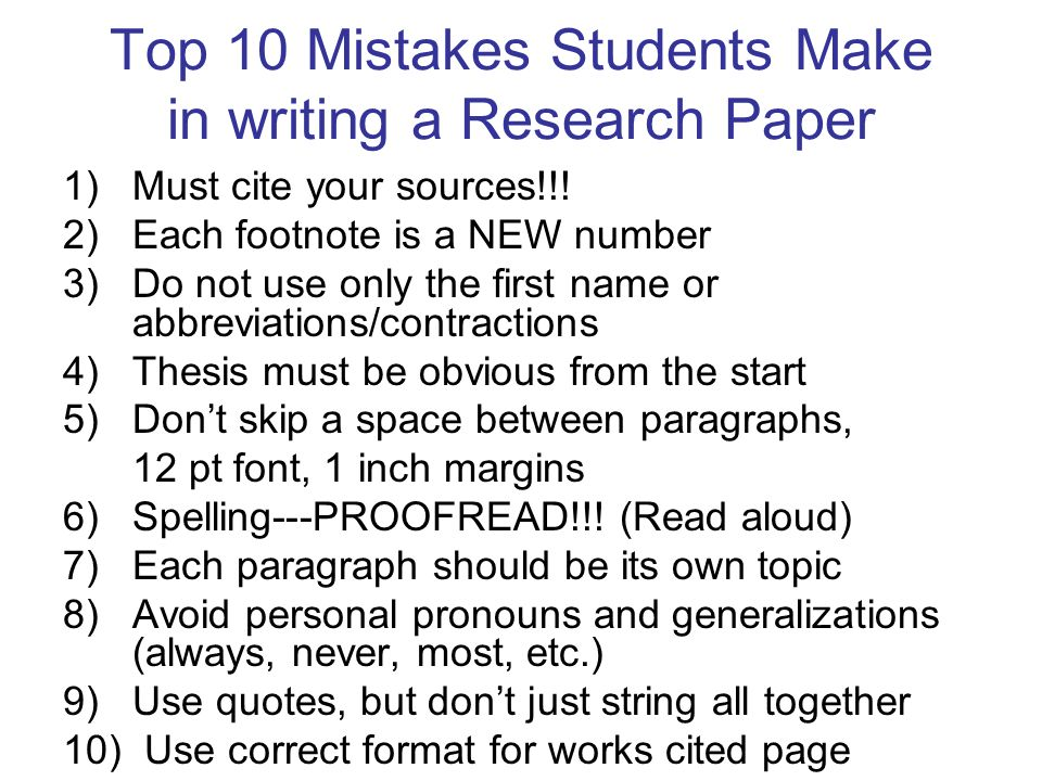 easy tips writing research paper Steps in writing a research paper  a series of steps, starting with developing a research question and working thesis, will lead you through writing a research paper.