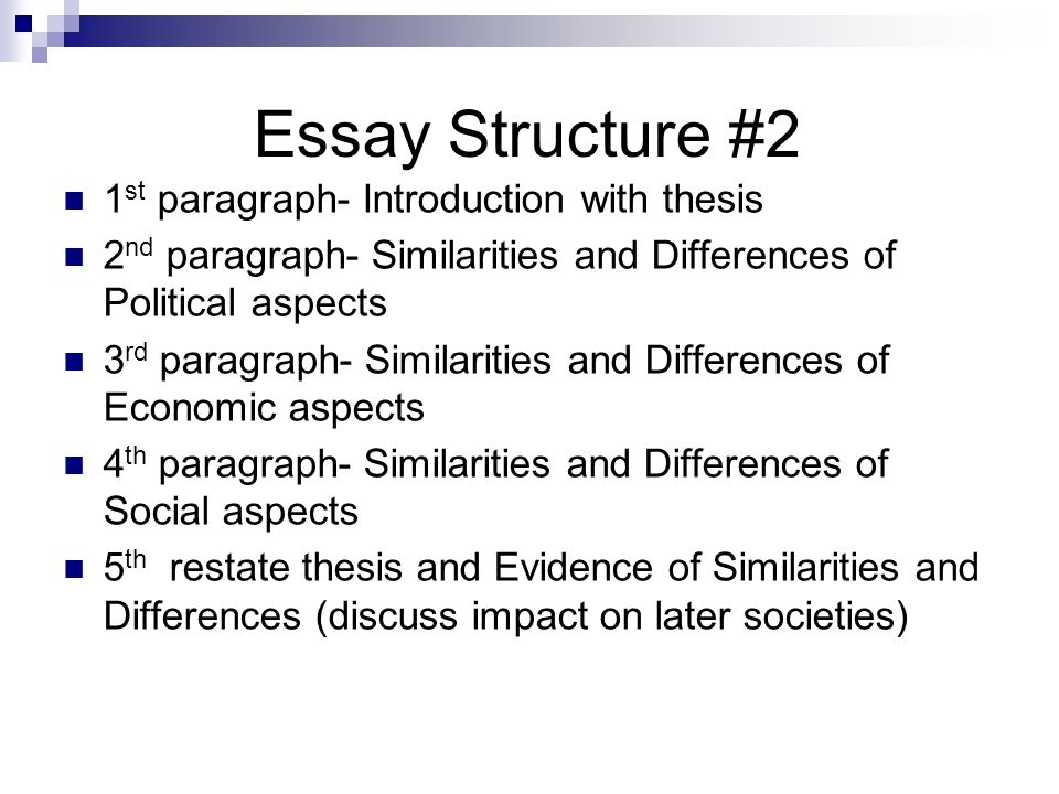 comparative essay comparative writing ppt video online 23 essay structure