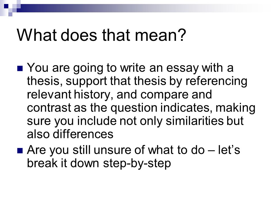 Comparative Essay Comparative Writing  Ppt Video Online Download  What