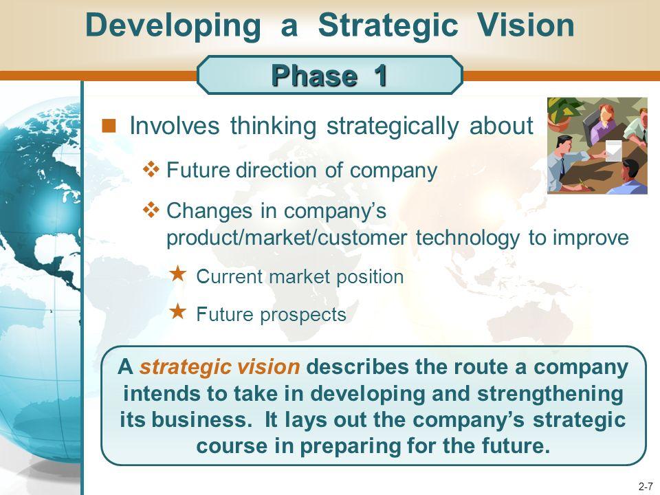 developing strategic vision