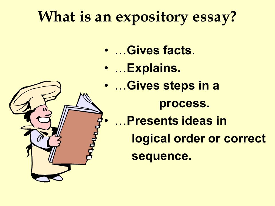 expository essay process analysis What is an expository essay while expository is just a  a full understanding of a complex process or situation the expository essay  analysis of your topic.