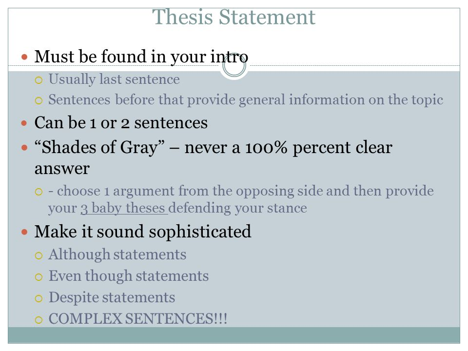 microsoft and thesis statement A thesis statement can be very helpful in constructing the outline of your essay also, your instructor may require a thesis statement for your paper iii how do i.