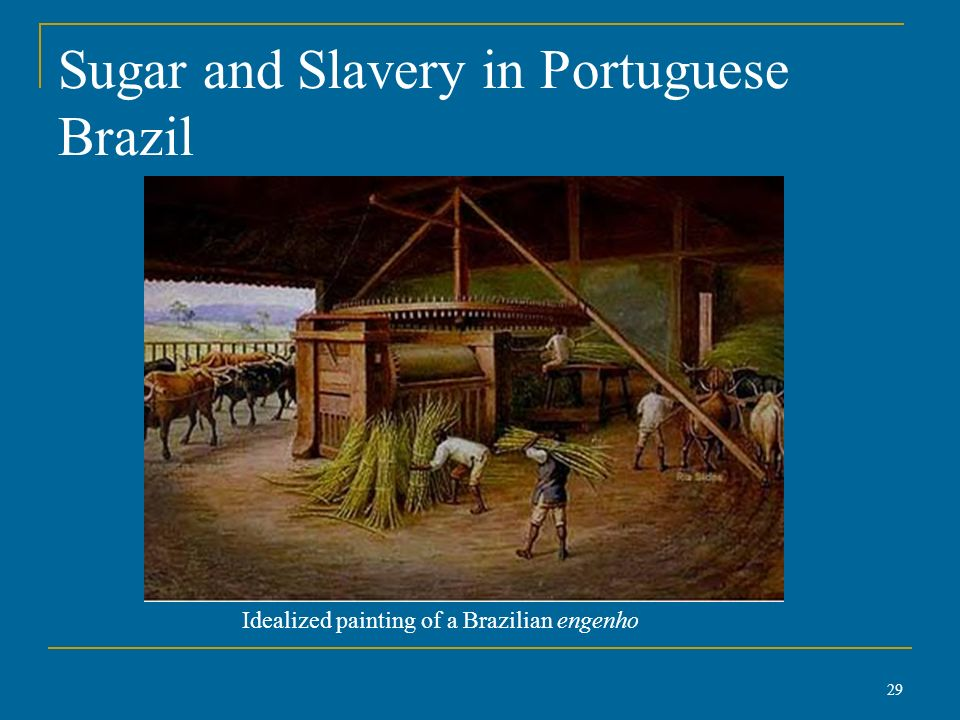 portuguese and spanish slavery Christianity and black slavery by jeffrey b russell republic was destroyed by the spanish and portuguese kings at the demand of local slavers.