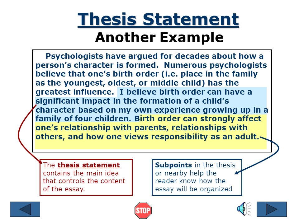 """thesis statement complete sentence What is a thesis  home english 102  is not the same as the thesis statement, which is a sentence or two  notice that """"the sky is blue"""" is a complete."""