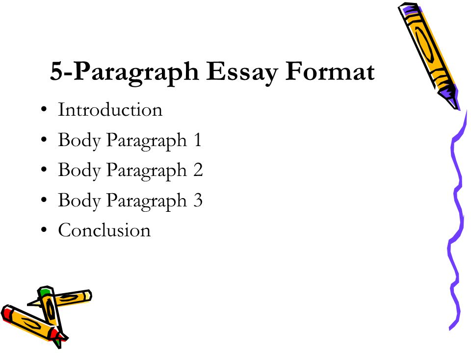 writing five paragraph essay outline