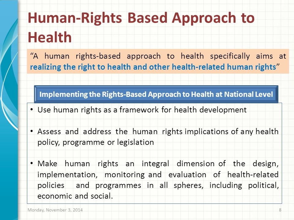 A Human Rights-Based Approach to Housing