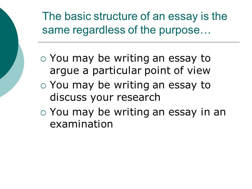 research paper structure basic Writing tips for economics research papers remember two basic rules of economic usage: its structure can be organized like a.