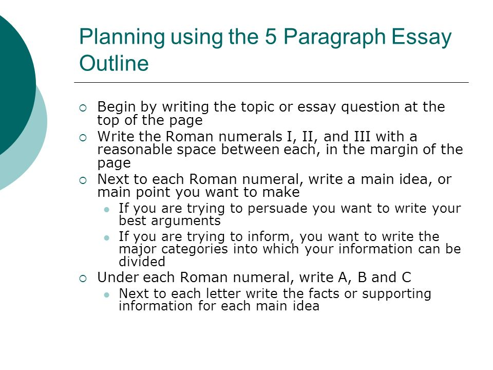 Paragraph level writing | University of Technology Sydney