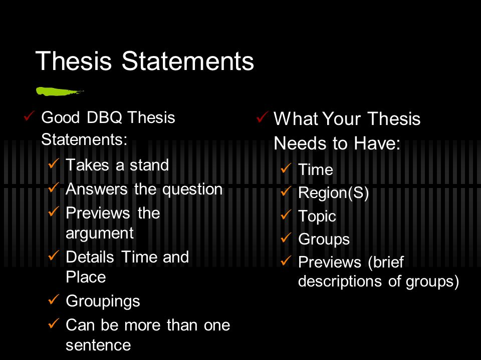 Exactly how to help you Come up with the Thesis Report