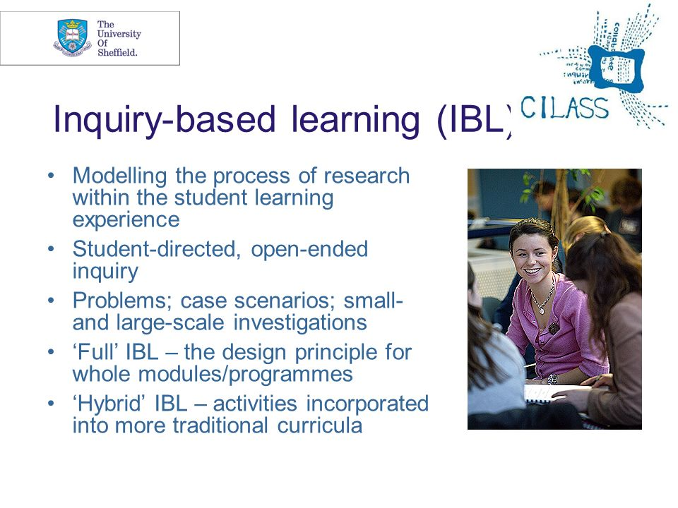 Inquiry-based learning (IBL)