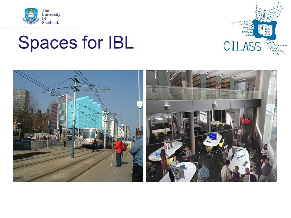 Spaces for IBL