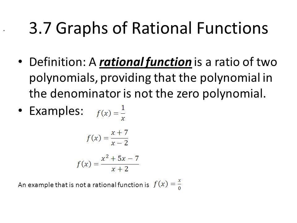 37 graphs of rational functions ppt video online download