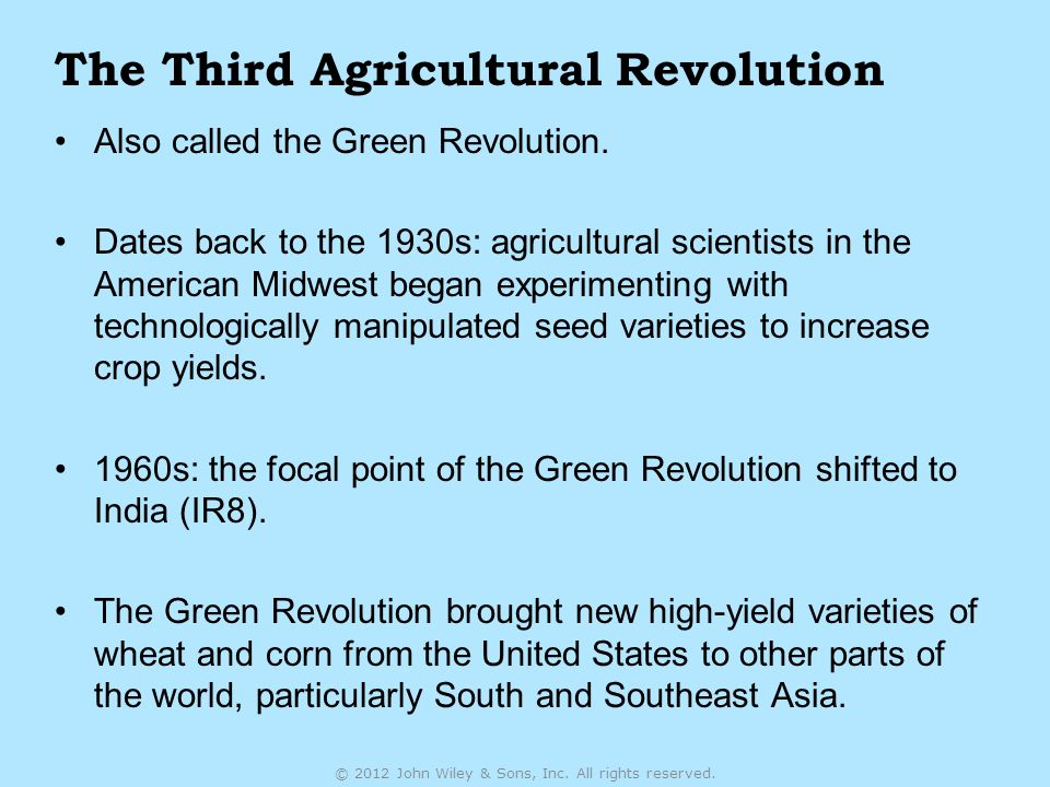 an introduction to the agricultural history in the 1930s in the united states Introduction rudolf diesel rudolf diesel invented the diesel engine in the 1890s  in the united states, biodiesel was first manufactured commercially in 1991 in .