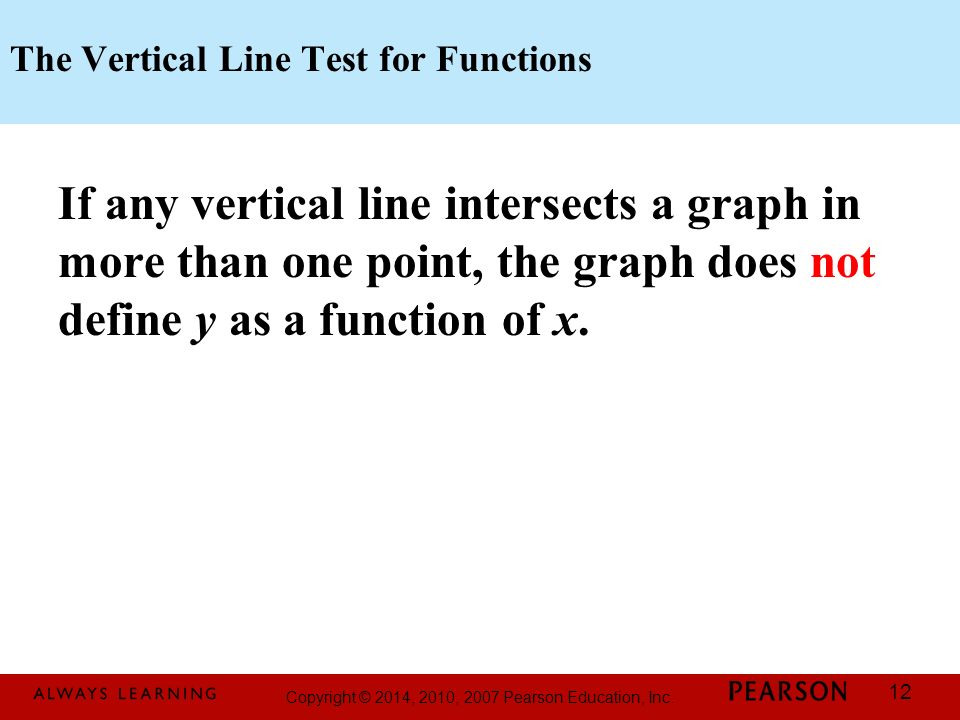 Printable Worksheets vertical line test worksheets : Copyright © 2014, 2010, 2007 Pearson Education, Inc. - ppt download