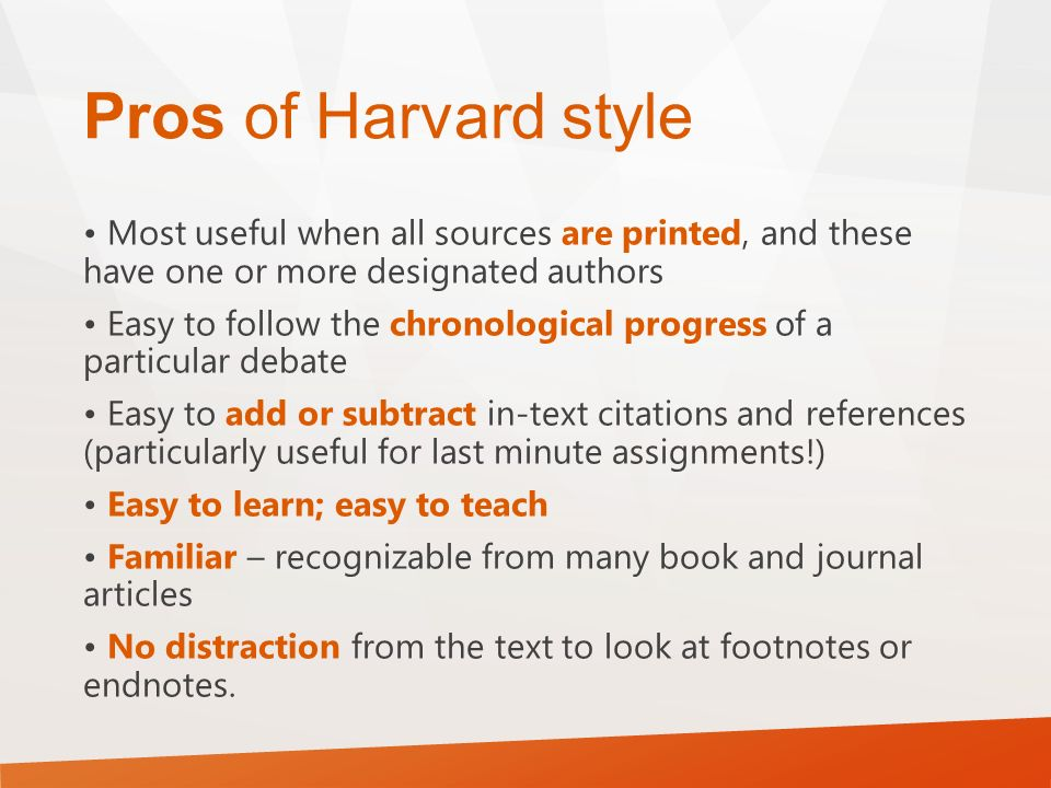 cu harvard reference There is a speech on youtube by george osborne that i wish to reference in an  essay just wondering if anyone knows the correct protocol for.