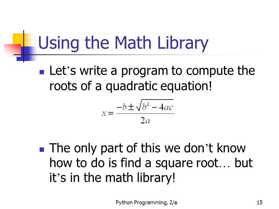 Java Program to find Roots of a Quadratic Equation