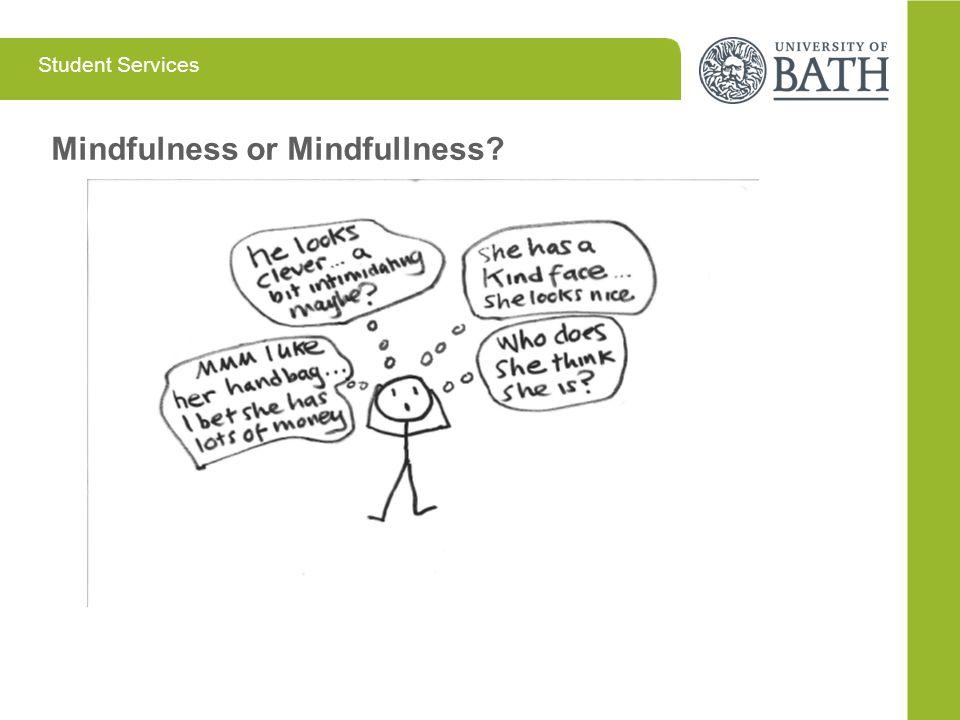 Mindfulness or Mindfullness