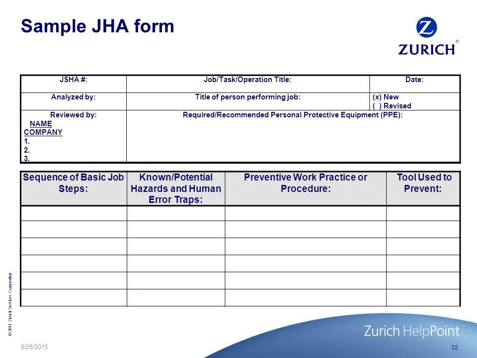 Job Hazard Analysis Jha Ppt Video Online Download