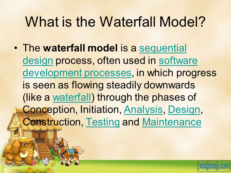 What is the Waterfall Model