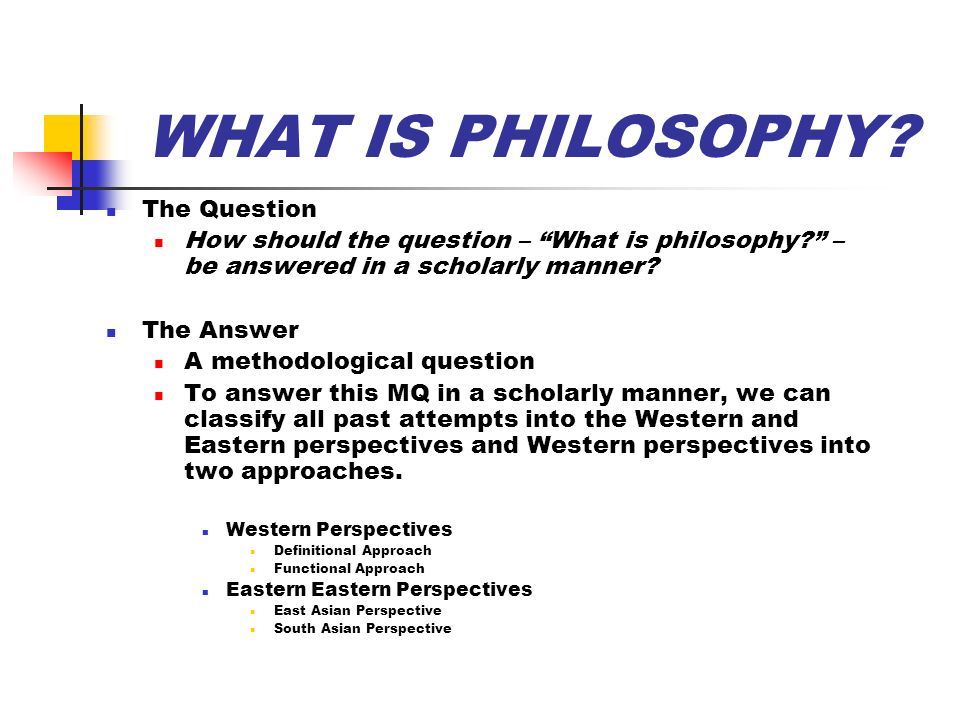 """an overview of western and eastern philosophers views on how to live Western schools of philosophy: a brief overview philosophers could adopt a """"god's eye view"""" as a on western philosophers."""