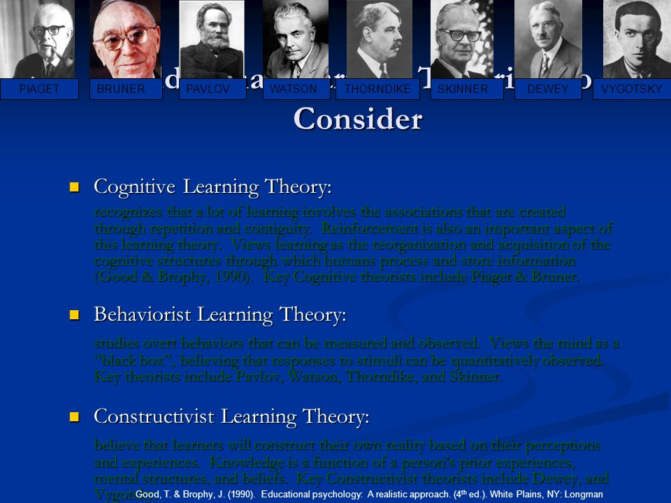 reaction paper on piagets learning theory essay