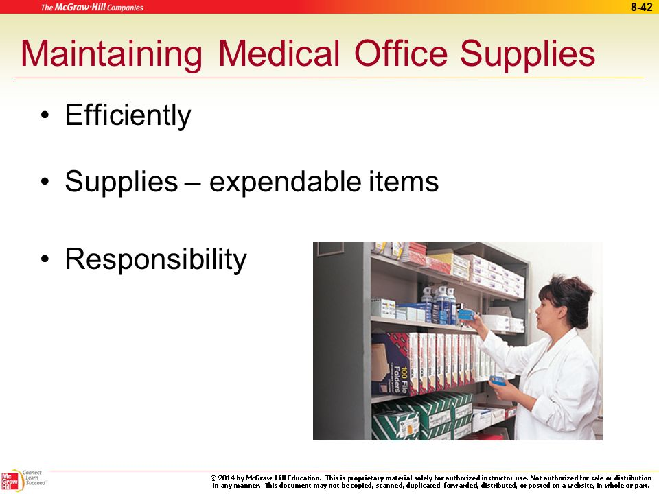 Maintaining Medical Office Supplies