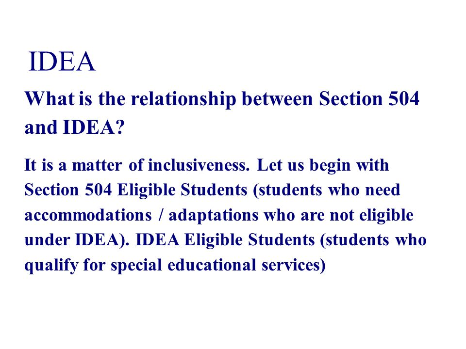 explain the relationship between disability and special educational needs The special educational needs and disability review a statement is not enough this review was commissioned to evaluate how well the legislative framework and.