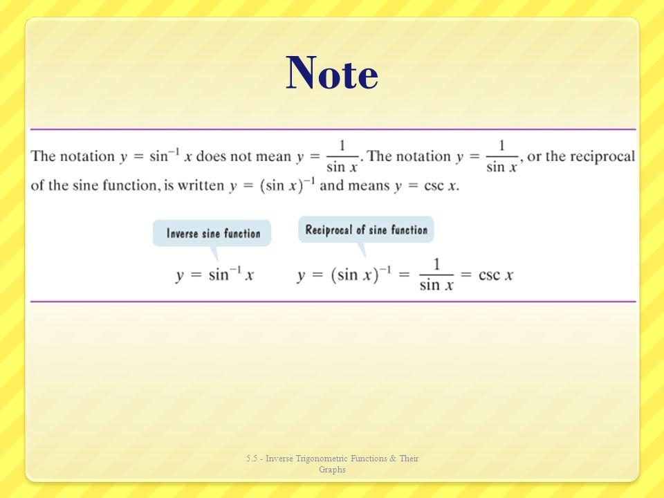 inverse trigonometric functions notes pdf