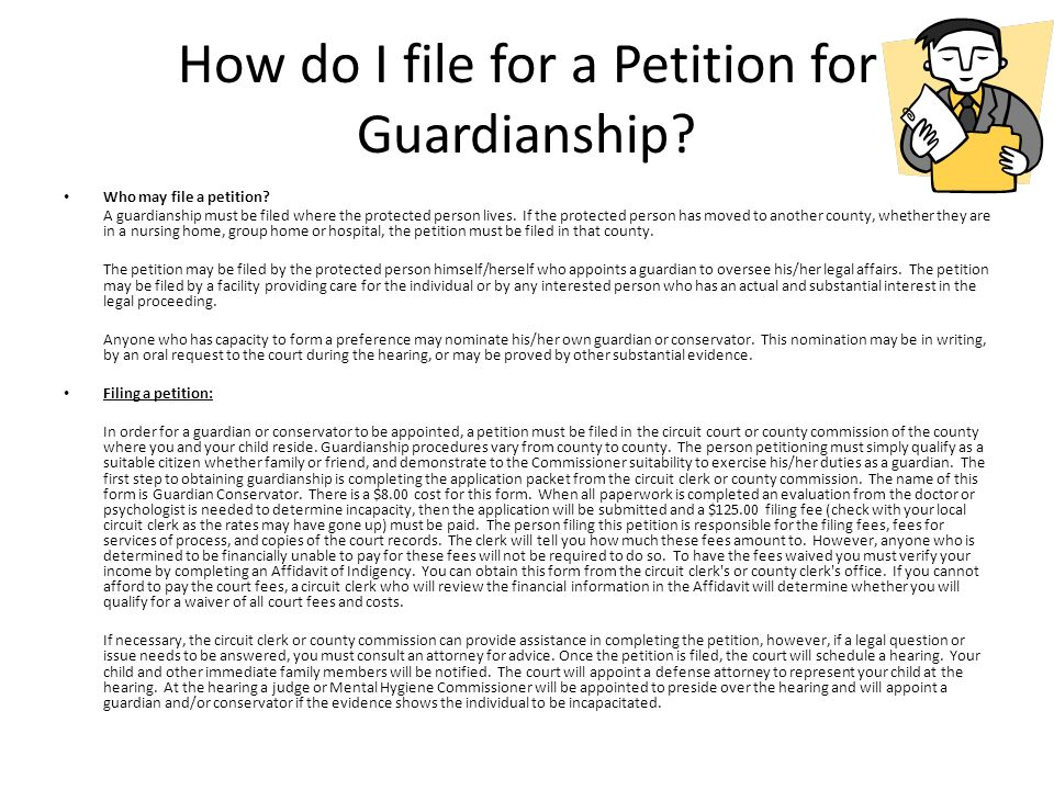 Understanding The Need For Guardianship And Estate Planning - Ppt